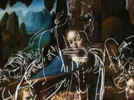 """Cercetătorii au descoperit desene secrete sub pictura """"Fecioara între stânci"""" de Leonardo da Vinci"""