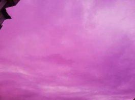 Halucinant! Un cer roz incredibil a fost observat în Buzău pe 31 ianuarie 2020! Ce se întâmplă?