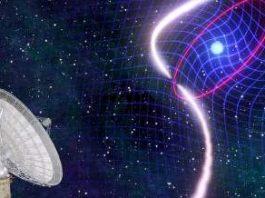 """Cercetătorii au observat o stea care """"trage"""" după ea spaţiul şi timpul!"""