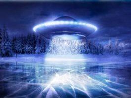 Misterul OZN-ului care s-a scufundat într-un lac de gheaţă din Rusia cu incredibila viteză de 7.000 de km/h! Cică ar fi fost construit din titan...