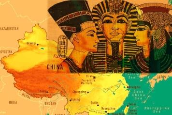 Descoperire şocantă a unui cercetător: chinezii din Antichitate sunt, de fapt, vechii egipteni care au migrat în Asia orientală