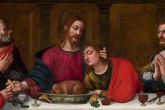 """Un tablou misterios şi necunoscut pictat de o călugăriţă din Florenţa în urmă cu 450 de ani - """"Cina cea de taină"""""""