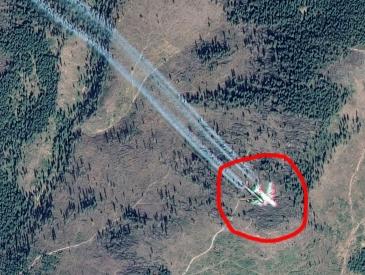 Pe Google Maps, deasupra României, apare un avion-hologramă? Eroare Google Maps sau iar se manifestă Matrix-ul?