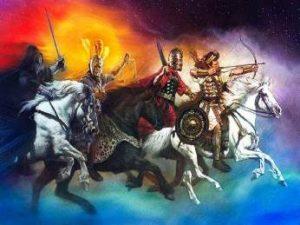 """Un secret dezvăluit de """"Cartea lui Enoh"""": grupul îngerilor lui Semyaza e vinovat pentru uriaşii de pe Terra. De aceea au fost ei """"înlănţuiţi"""" în întuneric?"""