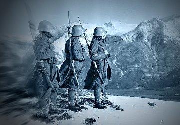 O poveste terifiantă din Alpii elveţieni, din timpul celui de-al doilea război mondial