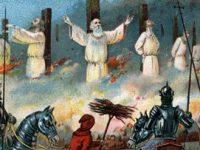 Blestemul liderilor cavalerilor templieri şi moartea celor 13 regi şi prinţi ai Angliei şi Franţei