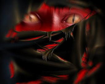 O forţă misterioasă - Demonul roşu - există în lumea noastră. Cine este el?