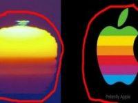 """Un apus de soare din California seamănă foarte mult cu logo-ul companiei Apple. Unii cred că """"Big Tech"""" ne-ar controla şi cerul..."""