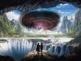 """Teorie năucitoare: farfuriile zburătoare şi """"extratereştrii"""" vin din interiorul Pământului, de la o civilizaţie avansată care se ascunde de guvernele lumii"""