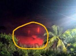 """Din nou, lumini roşii misterioase pe cerul Mexicului! Tot """"fenomen natural"""" sau poate experimente militare secrete? Ori OZN-uri venite din alte lumi..."""
