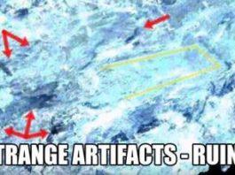 Ia uitaţi-vă ce lucruri incredibile se ascund sub gheţurile din Antarctica! Ele au fost descoperite în nişte imagini din satelit din 1984