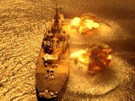 """Au americanii nave militare capabile să se protejeze cu un câmp de forţă electromagnetic invizibil, la fel ca în filmul SF """"Battleship""""?"""