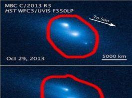 Cine a dezintegrat uriaşul asteroid P/2013 R3 din sistemul nostru solar? Există şi o ipoteză năucitoare...