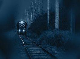 """Legenda misterioasă a """"trenului-fantomă"""" de argint din Suedia... Duce el către altă dimensiune?"""