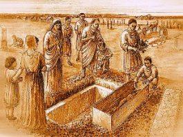 Cine era misterioasa nobilă romană, îmbrăcată în haine de mătase, ce a fost descoperită într-un sarcofag din Londra?