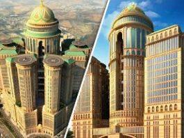 Pare desprins din poveştile arabe: Hotelul Abraj Kudai din Arabia Saudită (cel mai mare din lume) va avea 10.000 de camere şi 14 clădiri uriaşe
