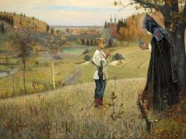 O minune incredibilă: un sfânt rus a primit BRUSC harul scrierii şi citirii de la un călugăr misterios