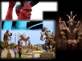 Tot mai multe statui satanice / reptiliene apar în lume în ultimii ani! Vrea să ni se arate ce forţă malefică conduce lumea?