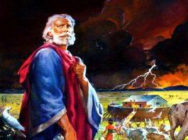 """Ipoteză şocantă găsită în textul apocrif """"Sulul lui Lameh"""": Noe din Biblie a fost un """"extraterestru""""?"""