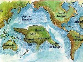 Conform a 2 cărţi bine documentate, Continentul Mu din mijlocul Oceanului Pacific s-a scufundat în urmă cu 13.000 de ani, omorând 64 de milioane de oameni