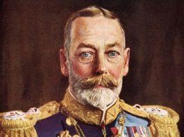 Regele George al V-lea al Marii Britanii şi incredibila sa întâmplare de la vânătoare: a vânat un cerb cu 2 perechi de coarne şi 20 de metri de sârmă!
