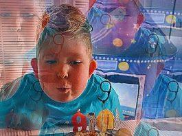 Un băiat care s-a născut cu doar 2% din creier şi căruia medicii nu-i dădeau nicio şansă de supravieţuire, şi-a revenit miraculos şi şi-a aniversat 9 ani de viaţă
