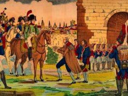 Ce-a făcut împăratul Napoleon când a ajuns cu armata sa la zidurile Madridului, capitala Spaniei