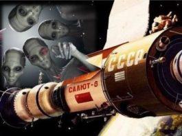 """O dezvăluire fantastică: Nava spaţială sovietică """"Salyut 6"""" s-a întâlnit cu o navă necunoscută din altă lume, iar ocupanţii ei au intrat în contact cu astronauţii pământeni - susţine un fost general rus"""