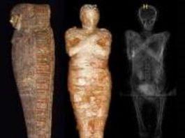 Arheologii polonezi au rămas şocaţi când au descoperit mumia unei femei însărcinate de 2 milenii! Trebuia să fie preot...