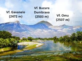 Râul Ialomiţa izvorăşte din Munţii Bucegi, de lângă 3 vârfuri în care există o mare concentrare energetică! Coincidenţă?
