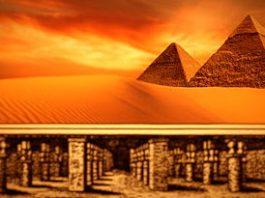 """Un gigantic oraş ascuns se află sub Marile Piramide din Egipt şi el este păzit de """"roboţi"""" ale unei civilizaţii trecute avansate - susţin mai mulţi scriitori şi istorici antici"""