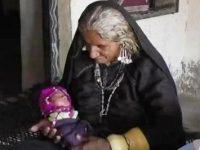 O femeie din India, în vârstă de 70 de ani, a rămas însărcinată şi a născut un copil!